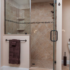 Traditional Bathroom by CANAAN CABINETRY INC