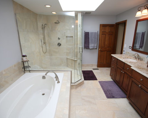 Traditional Bathroom Remodel In Naperville Il
