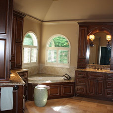 Traditional Bathroom by J Jarrett Designs