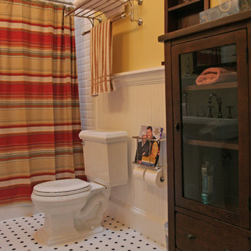 Traditional bathroom remodeling