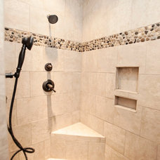 Traditional Bathroom by Richard Cable, ASID, RID, AIDC, NCIDQ Certified