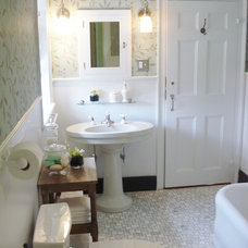 Traditional Bathroom by Design For Less