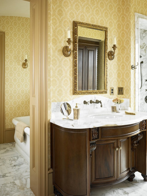 French Country Wallpaper Houzz