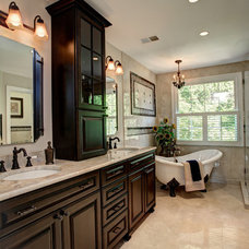 Traditional Bathroom by SK Interiors
