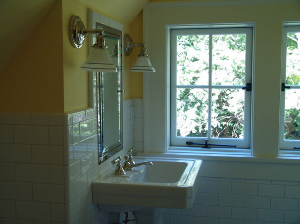Traditional Bathroom by Soorikian Architecture