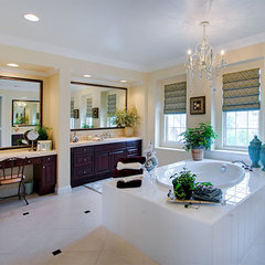 traditional bathroom by Style On a Shoestring