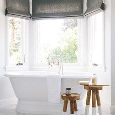 Traditional Bathroom by Amanda Teal Design