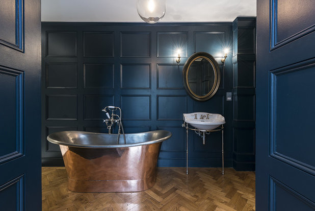 Traditional Bathroom by Veronica Rodriguez Interior Photography