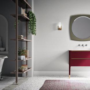 75 Most Popular Miami Terrazzo Floor Bathroom Design Ideas