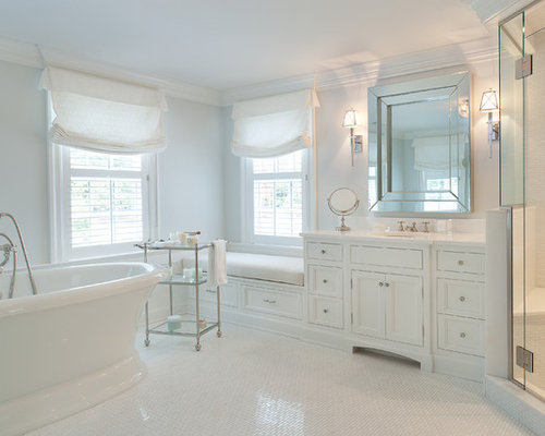 SaveEmail  Traditional Bathroom. Glass Etagere Ideas  Pictures  Remodel and Decor