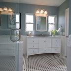 Backporchco beach style bathroom new york by for Bath remodel gurnee