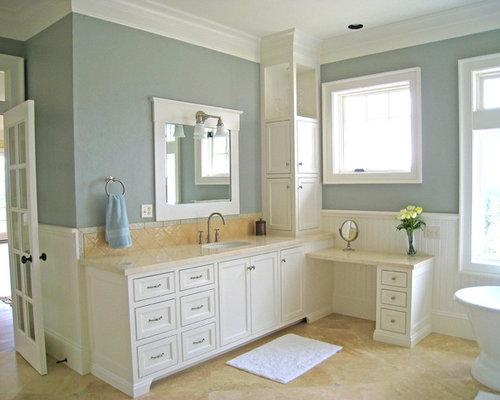 Almond Bathroom Design Ideas, Remodels & Photos