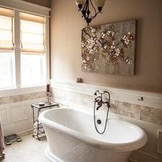 Traditional Bathroom by Wynn & Associates