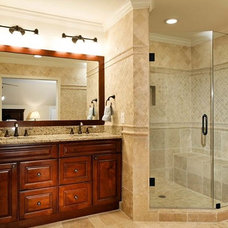 Traditional Bathroom by Michael Nash Design, Build & Homes