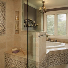 traditional bathroom by Xstyles Bath + More