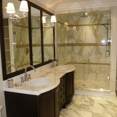 Traditional Bathroom by Cazan Design Group