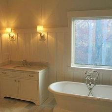 Farmhouse Bathroom by Jenny Morrissey Designs