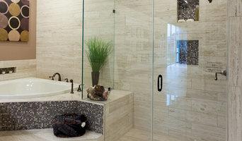 Traditional Glass Shower Door Bathroom Ideas