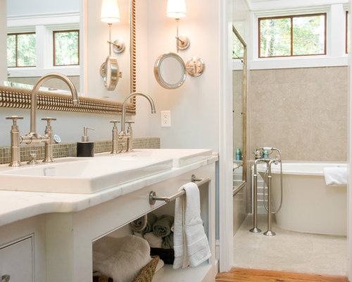 Bathroom Mirror Magnifying magnifying bathroom mirror | houzz