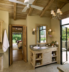 traditional bathroom by Becker Studios