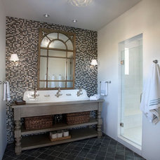 Traditional Bathroom by Candelaria Design Associates