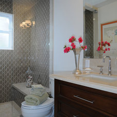 Traditional Bathroom by KellyBaron