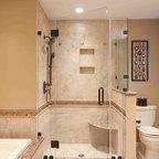 Basement Bathroom Traditional Basement Dc Metro By Nvs Remodeling Design