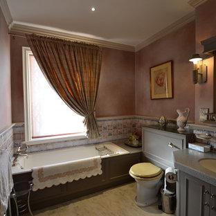 Rustic bathroom in London.