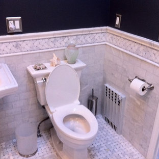 Photo of a traditional bathroom in New York.
