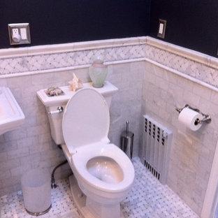 Esempio di una stanza da bagno tradizionale
