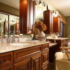 Traditional Bathroom by Monson Interior Design, Inc.