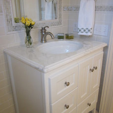 Traditional Bathroom by Nanette Baker of Interiors by Nanette, LLC