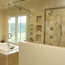 Contemporary Bathroom by BRY design