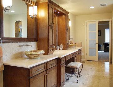 Traditional Master bathroom, Austin, Texas