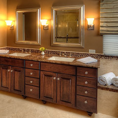 traditional bathroom by Tracy Grosspietsch Interiors
