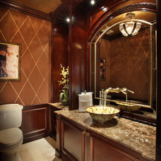 Traditional Bathroom by Brown's Interior Design