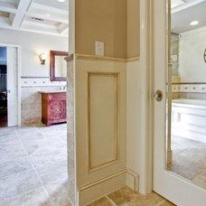 Traditional Bathroom by Keri Morel Designs