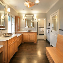 contemporary bathroom by timothyj kitchen & bath, inc.