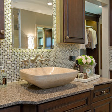 Traditional Bathroom by Ashley Avery, Palmetto Cabinet Studio