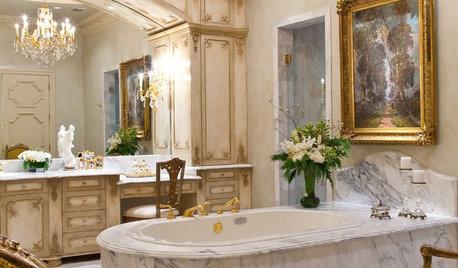 10 härligt lyxiga badrum i barockstil – skapa stilen hemma