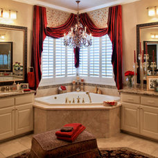 Traditional Bathroom by Wendy Black Rodgers Interiors
