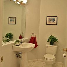 Contemporary Bathroom by Debbe Daley Designs LLC
