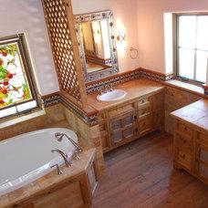 Traditional Bathroom by Sierra Encantada INC