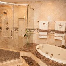 Traditional Bathroom by Advance Design Studio, Ltd.