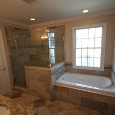Traditional Bathroom by Joseph Pastore Custom Carpentry & Remodeling Inc.