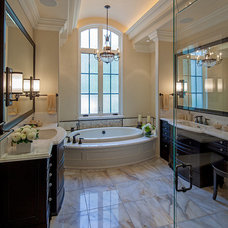 Traditional Bathroom by Makow Associates Architect Inc