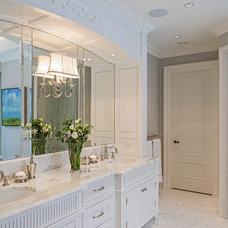 Traditional Bathroom by Makow Associates Architect Inc