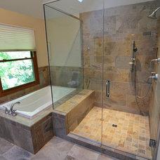 Traditional Bathroom by Adam Hartig