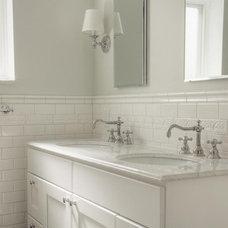 Traditional Bathroom by Buckminster Green LLC