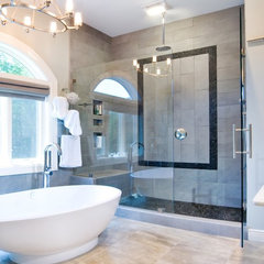 contemporary bathroom by Artistic Design and Construction, Inc